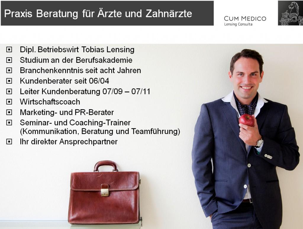 Arzt-Zahnarzt Praxismarketing-Berater-Tobias-Lensing